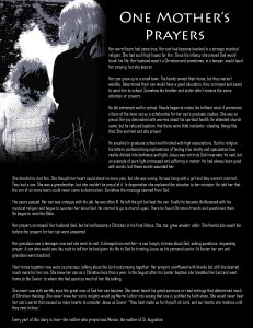 One Mother's Prayer Full Page versions IMAGE 3