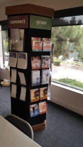 Revolving Church Info Kiosk