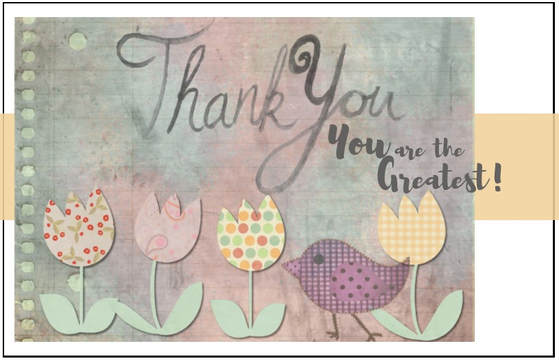 Thank You Cards For Any Occasion For Church Volunteers