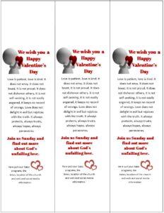 Valentines Door Hanger Templates