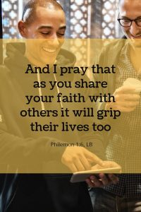 Share your faith Snappa graphic