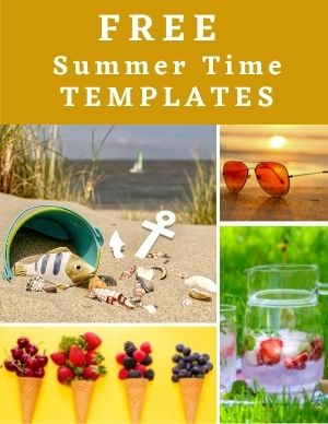 Free Summer Templates for Churches